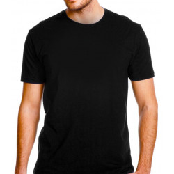 Black T-Shirt : Color - Black, Size - S